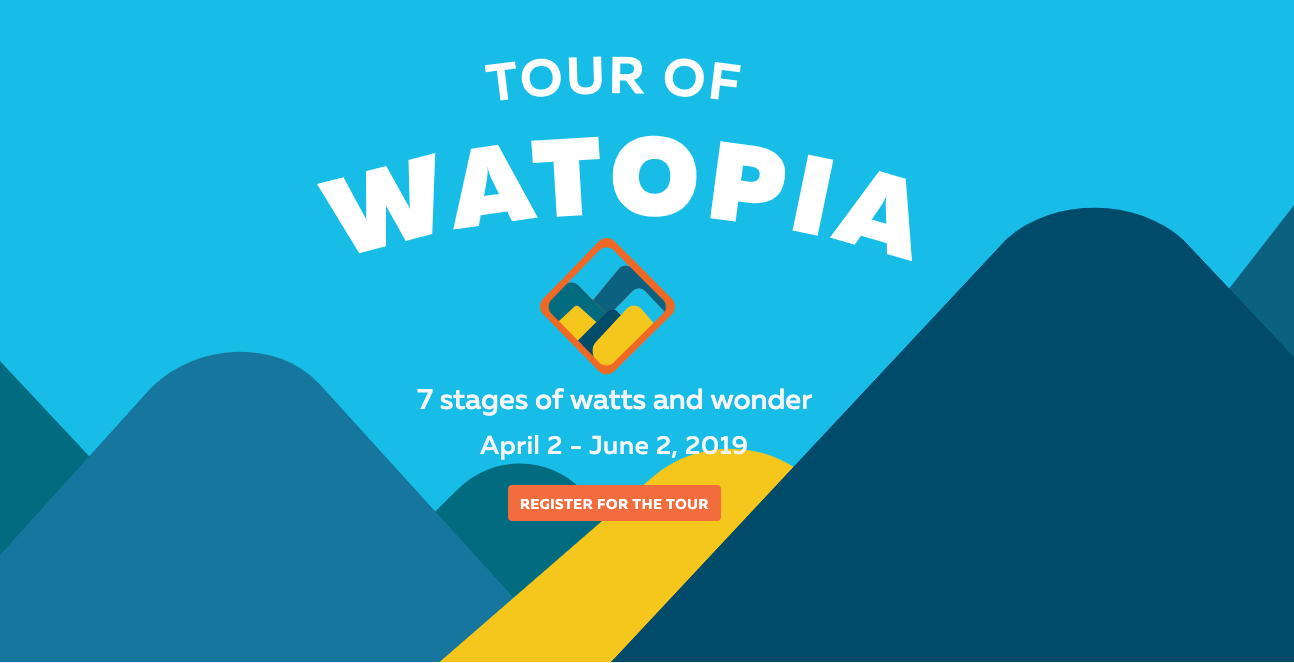 Tour of Watopia Scheduling