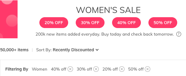 Discount Filters Promo Code >> Why Isn T The Promo Code New Applying To My Order